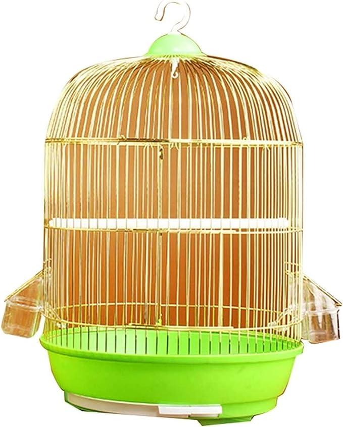 Jaula dpájaros duradera y ecológica, Jaula de vuelo para periquitos de pájaros para periquitos con stand, jaulas de aves ornamentales asequibles, jaulas de loro de hierro casero, jaulas canarias de pá