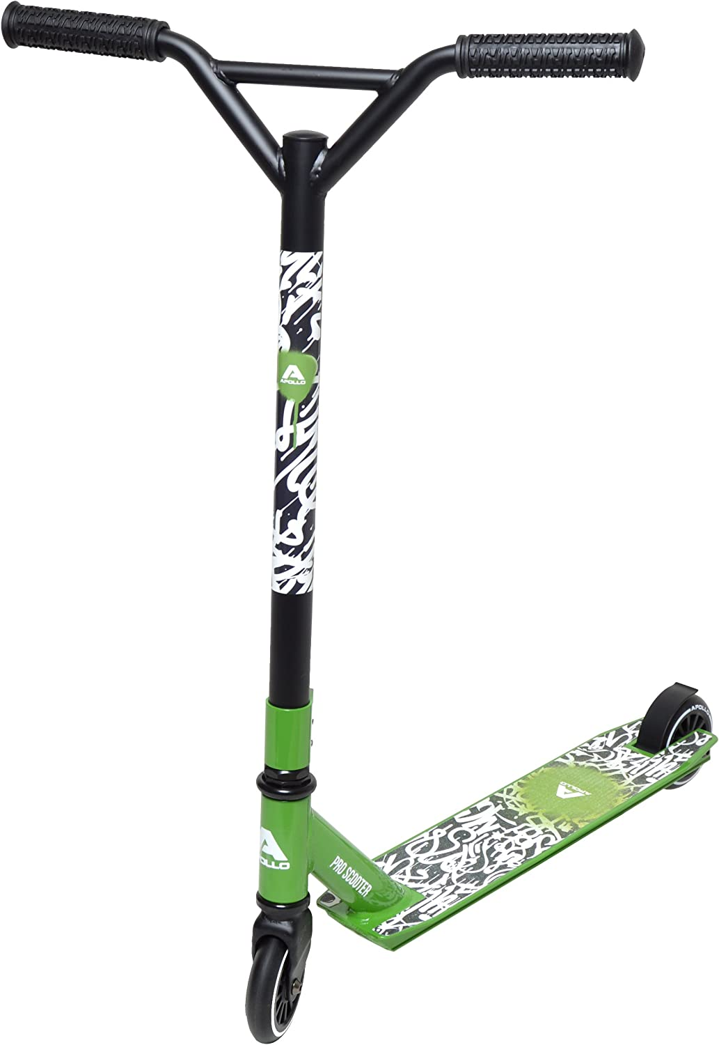 Apollo Stunt Scooter Graffiti Pro - Stunt Scooter Semi Pro robustos con rodamientos ABEC 9, Fun Scooter, Kick Scooter, Trick Scooter, Freestyle Scooter