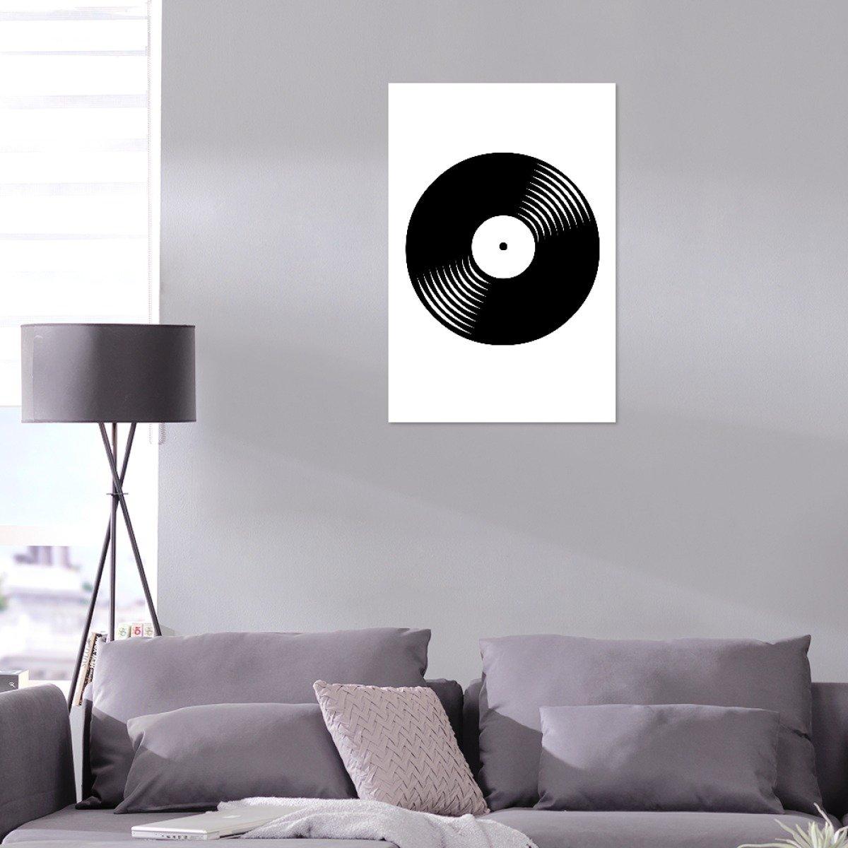 4ca15f8482fd artboxone de aluminio Print Retro vinilo de artista byki Designs ...