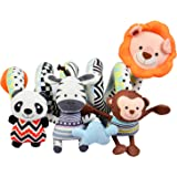 Totmart Lion Baby Activity Spiral Toy, Stroller Toy, Bed Hanging Toys, Car Seat Toy