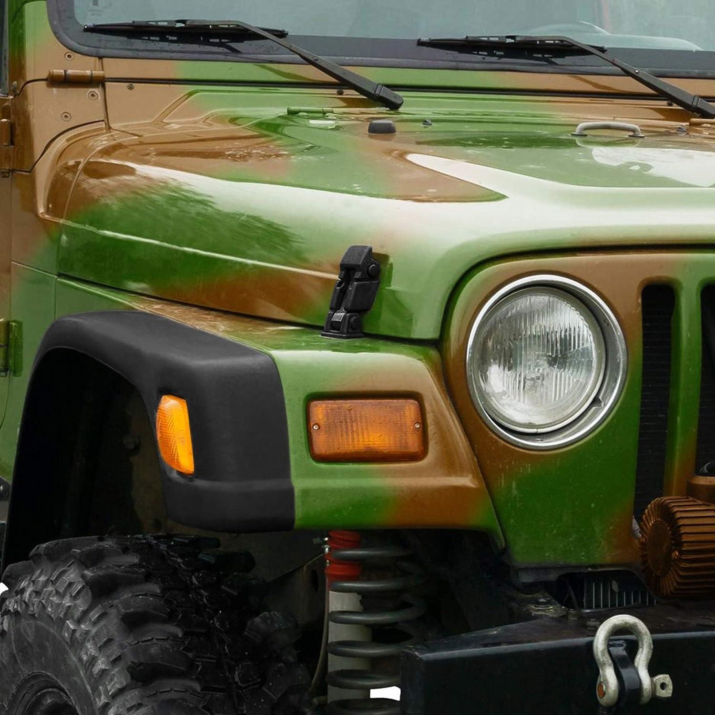 X AUTOHAUX 2Pcs Car Hood Latches Hood Catch Lock Kit for Jeep ...