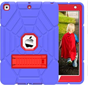 """Grifobes New iPad 8th Generation Case,iPad 7th Generation Case,iPad 10.2 Case 2019&2020 for Kids,Heavy Duty Shockproof Rugged Case High Impact Full Body Protective Case for iPad 8th/ 7th Gen 10.2"""""""