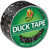 Duck 285223 Duct Tape Single Roll, 1.88 Inches x 10 Yards, Metallic Gold Stars
