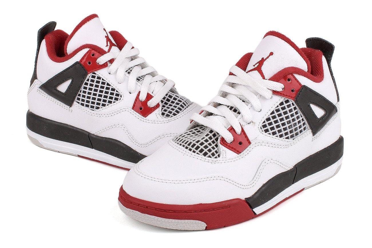 Jordan Nike Air 4 Retro Little Kids PS Boys Basketball Shoes 308499-110