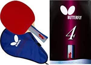 Butterfly 401 Table Tennis Racket Set - 1 Ping Pong Paddle – 1 Ping Pong Paddle Case - ITTF Approved Table Tennis Paddle - Ships in Ping Pong Racket Gift Box
