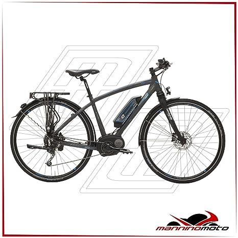 Bicicleta eléctrica Lombardo 28 Hombre e-amantea City Motor Bosch ...