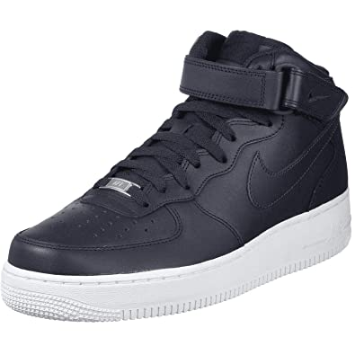 Nike Air Force 1 Mid 07 Leather Trainers: Amazon.co.uk