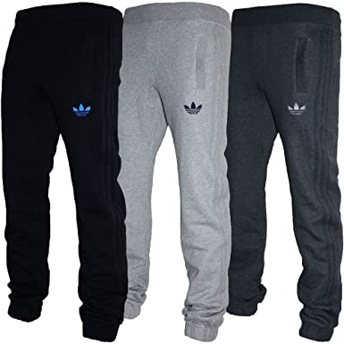 60c63af89b2f Adidas Originals Jog Pant Fleece Tracksuit Bottoms Joggers Trefoil Pant  Black
