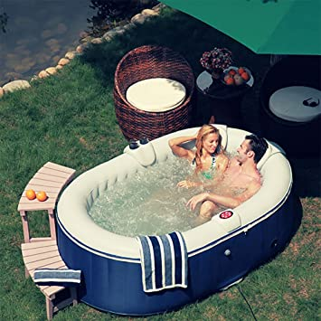 Ospazia Oval Series 2 Person Luxury Inflatable Spa / Hot Tub (AS03)