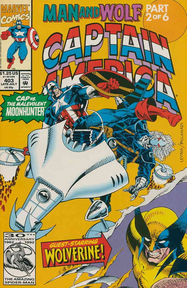 Captain America (1st Series) #403 VF/NM ; Marvel comic book