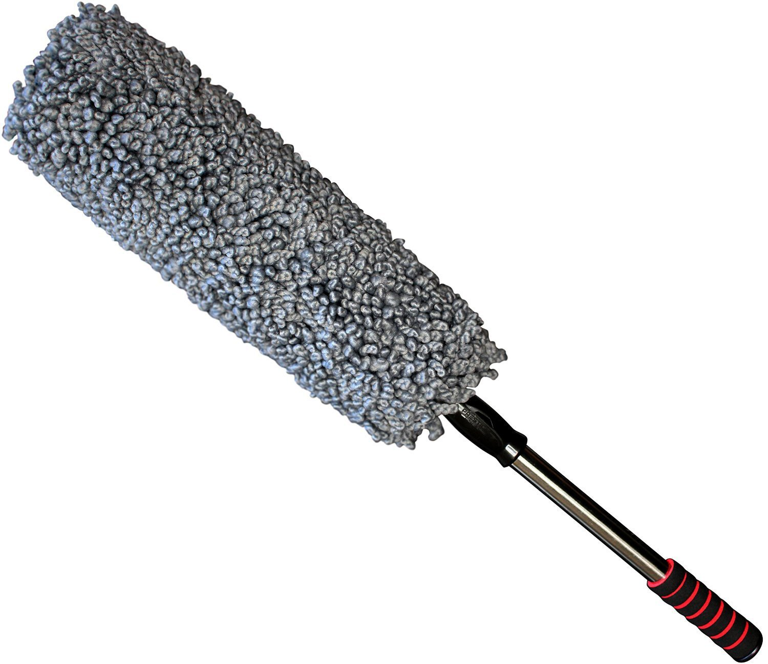 Ultra Premium Car Duster - Better Than The California Duster - Long Extendable Handle - No Wax Streaks Left Behind by Prestige Auto Care (Image #1)