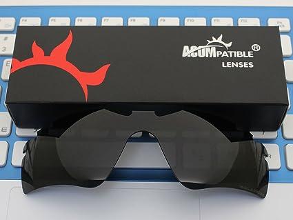 acompatible lentes de repuesto para Oakley Radar Path/Radar Golf gafas de sol, Black - Polarized: Amazon.es: Deportes y aire libre
