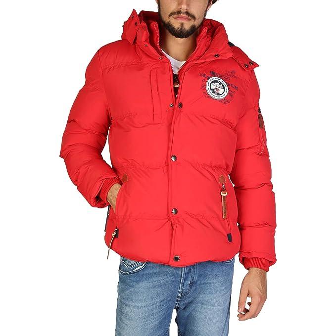 Geographical Norway Chaqueta Verveine_Man Hombre Color: Rojo Talla: S: Amazon.es: Ropa y accesorios