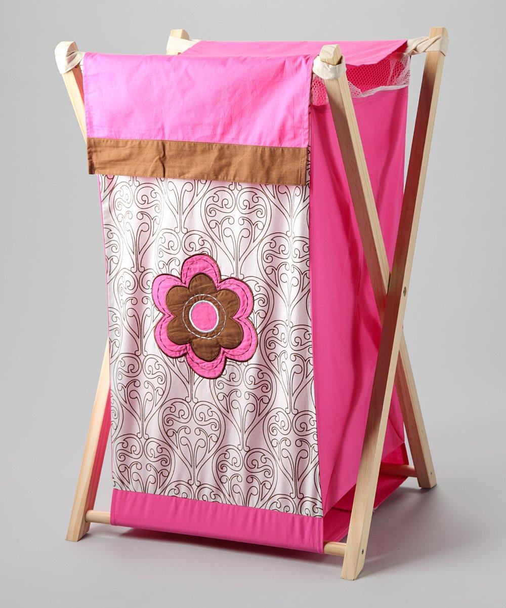 Bacati - Damask Pink/chocolate Hamper by Bacati (Image #7)