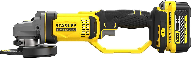 STANLEY SFMCG400B-XJ Mini-Amoladora V20 18V 125mm sin cargador//bater/ía