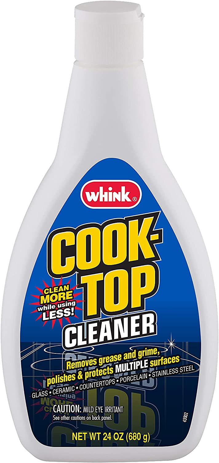 Whink Glass/Ceramic Cook-Top Cleaner, 24 Ounce (Pack of 6)