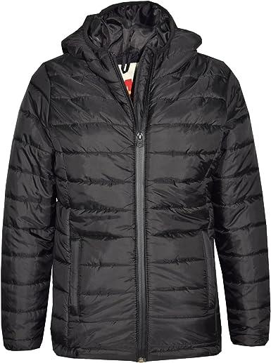 A2Z 4 Kids/® Boys Jacket Kids Designers Foam Padded Hooded Puffa School Coat Warm Thick Jackets Coats Age 3 4 5 6 7 8 9 10 Years