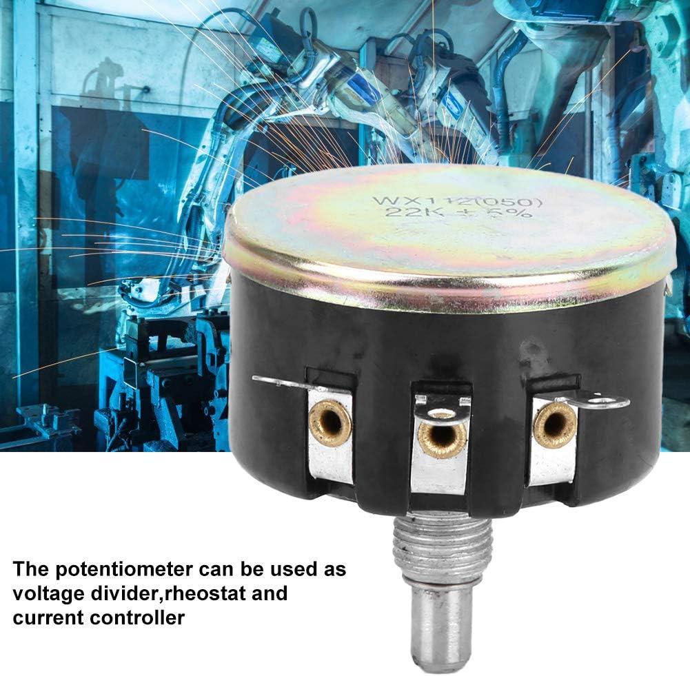 WX112 050 peut /être utilis/é comme diviseur de tension rh/éostat et contr/ôleur de courant Potentiom/ètre bobin/é /à un tour 22K 5W