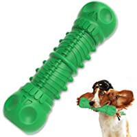 Indestructible Dog Squeaky Toys,Durable Dog Toothbrush Toys,Dog Chew Toys for Aggressive Chewers, Almost Indestructible…