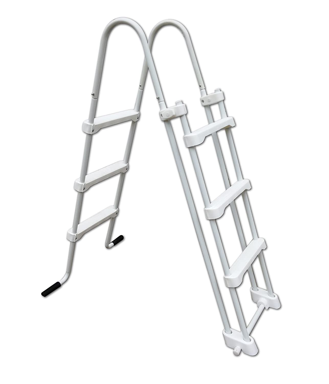 New Plast 0293s Olimpia Safety Step Ladder, 115x 72x 141cm