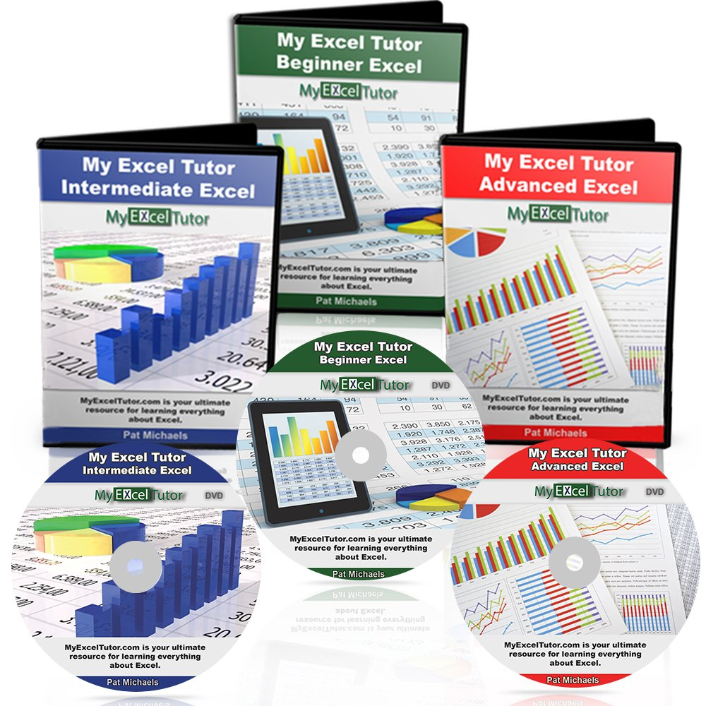 Microsoft Excel Tutorial 2016 Learn Microsoft Excel Fast Complete Excel Training Best Excel Course Includes Beginner Intermediate & Advance Excel Training On DVD | Expert Video Tutorials For Excel by My Learning Place