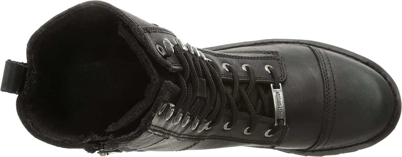 Harley Davidson Womens Balsa Leather Boots Noir