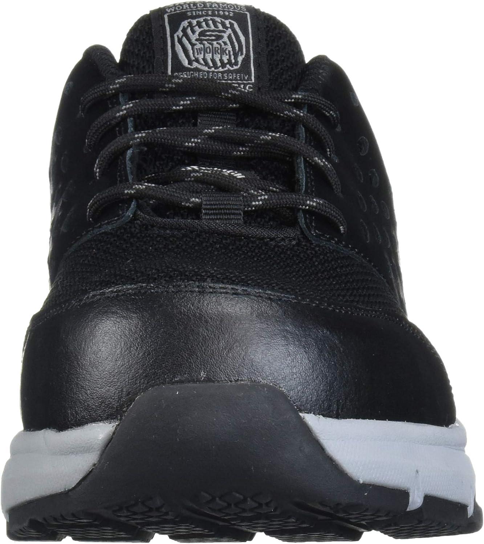 Skechers Soven Sr Chaussure de construction pour homme Black Grey