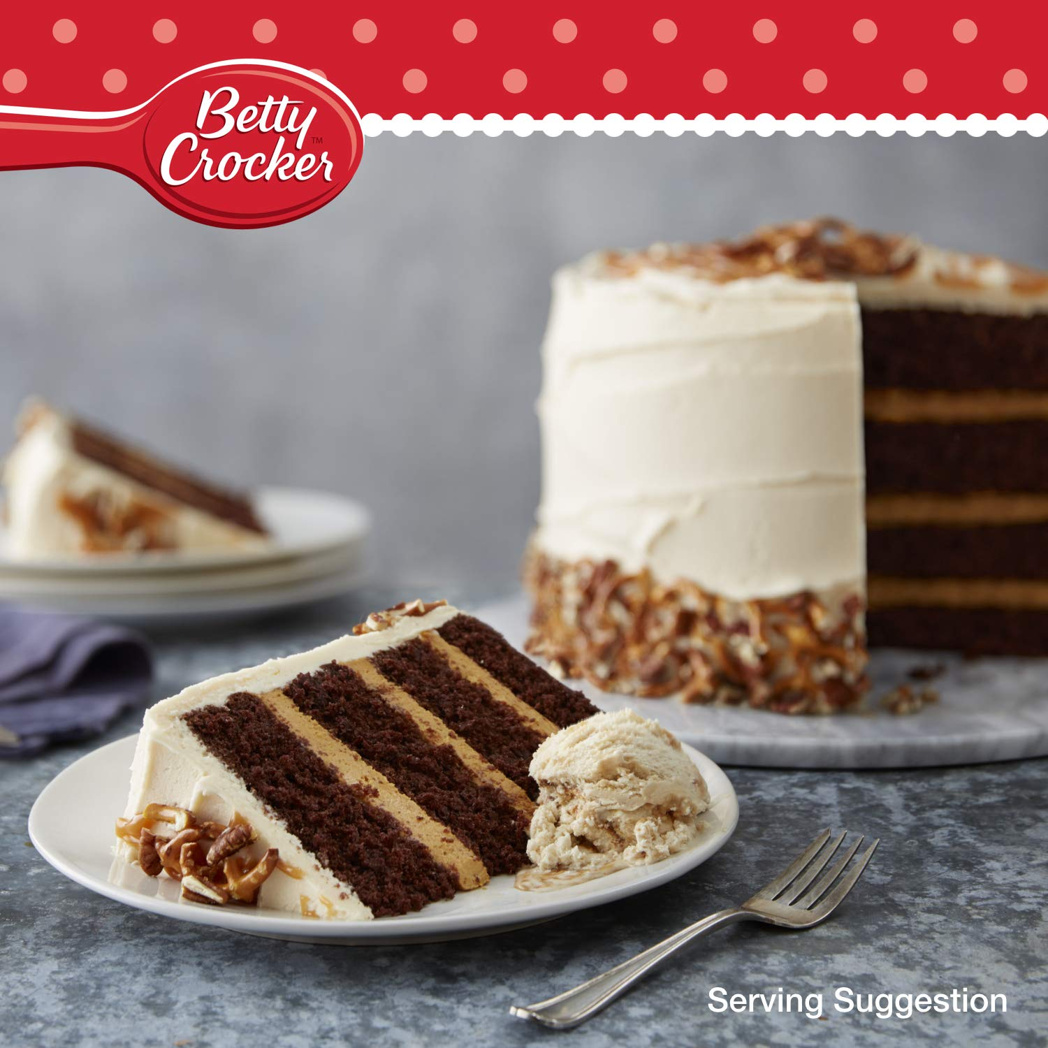 Betty Crocker - Devils Food Cake Mix 425 g: Amazon.es: Alimentación y bebidas
