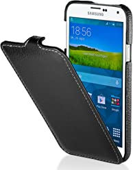 StilGut UltraSlim Case, custodia in vera pelle per Samsung Galaxy S5
