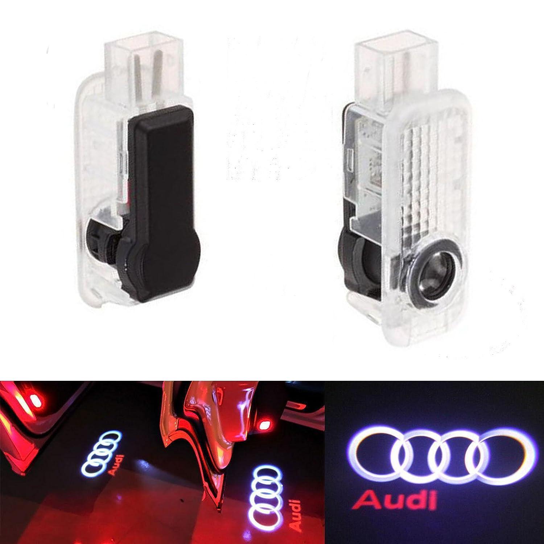 ALBRIGHT 2 X Auto Tü rbeleuchtung Tü r Licht Door Shadow Logo 3D Laser Licht Projector Willkommen Licht THG
