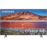 """Samsung 50"""" clase TU700D serie Crystal Ultra HD 4K Smart TV UN50TU700DFXZA (modelo 2020) (Reacondicionado)"""