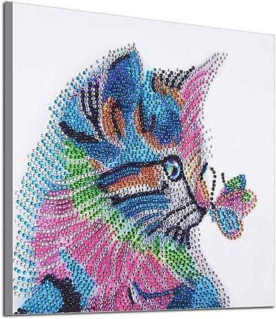 Animals Full//Partial Drill DIY 5D Diamond Painting Embroidery Cross Stitch KitSa