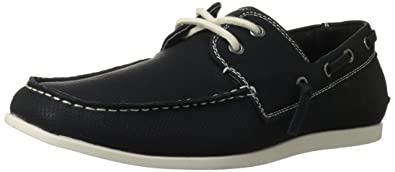 Madden Men's M-Gameon Boat Shoe,Black,7.5 M US,Black Nubuck
