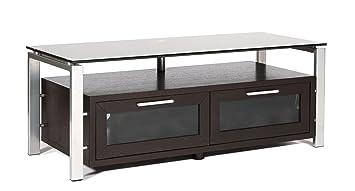 Amazon Com Plateau Decor 50 Es Wood And Glass Tv Stand 50 Inch