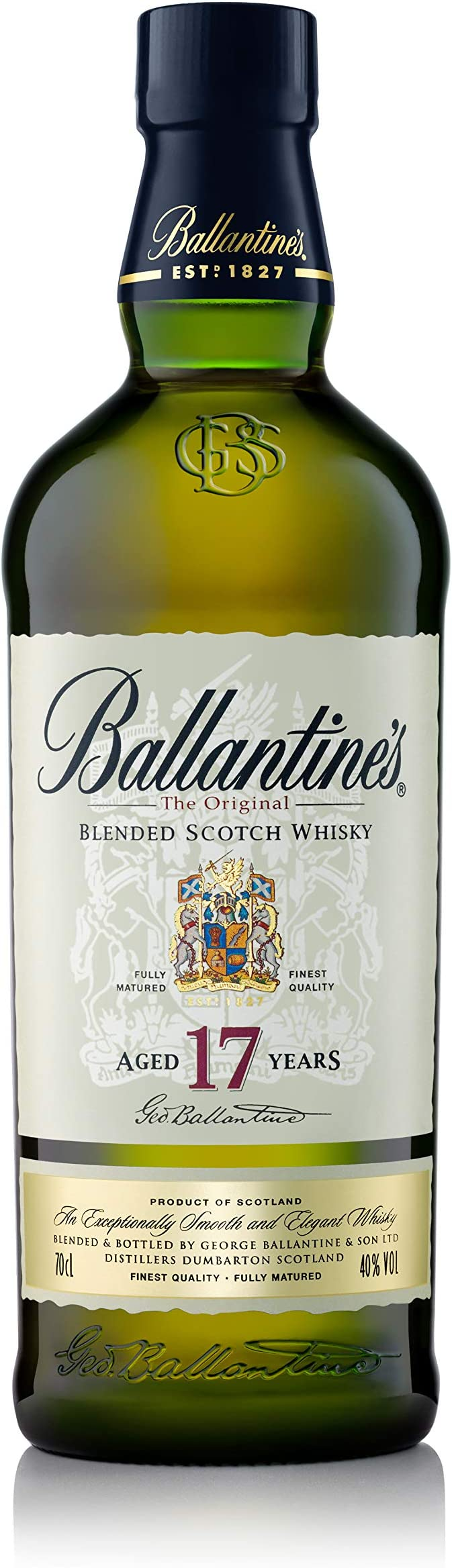 Ballantines 17 años Whisky Escocés de Mezcla - 700 ml