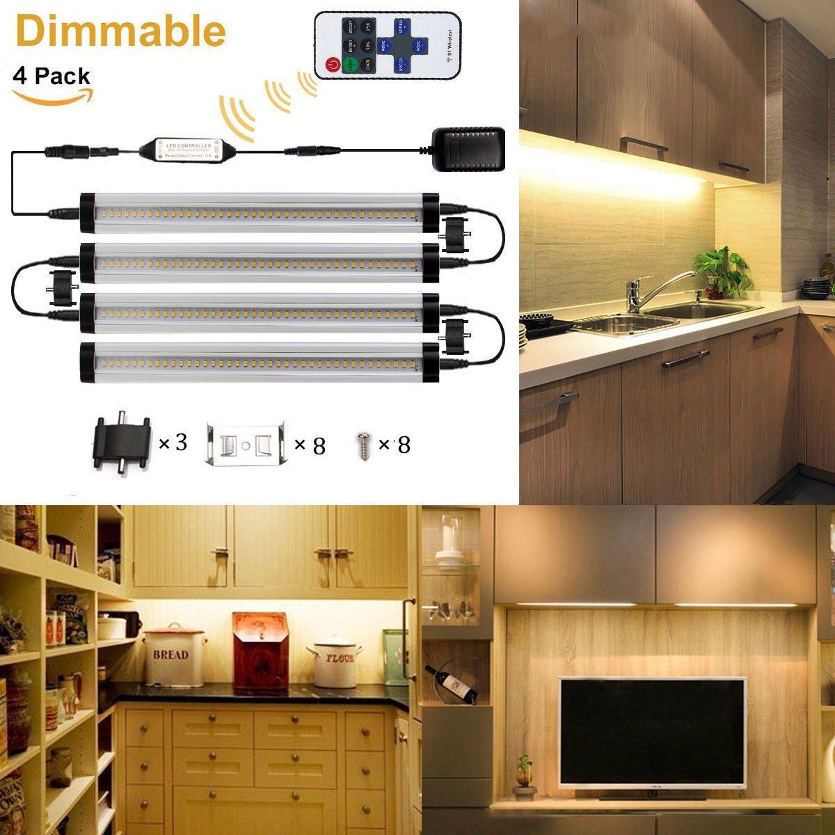 GreenSun 3W LED Unterbauleuchte Lichtleiste Küchenleiste ...