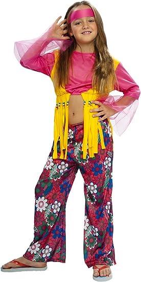 Boys Toys - Disfraz de hippie para niña, talla 5-6 años (STDO4/6 ...