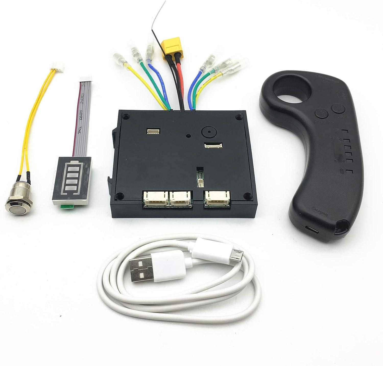 amazon.com : diy electric skateboard esc kit, 10s 36v electric skateboard  controller longboard + remote control dual motors esc substitute kit :  sports & outdoors  amazon.com