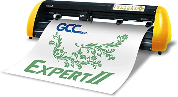 GCC Expert II EX II de 24 Plóter Amarillo/Negro: Amazon.es: Informática