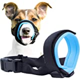 Gentle Muzzle Guard for Dogs - Prevents Biting Unwanted Chewing Safely Secure Comfort Fit - Soft Neoprene Padding – No…