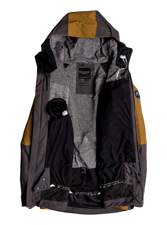Quiksilver Mens Tr Stretch 30k Snow Jacket