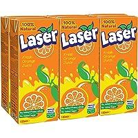 Laser Orange Juice ( No Added Sugar) - 180 Ml X 6 Pcs