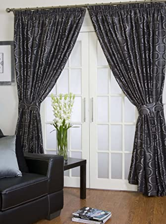 Halo Lined Ready Made Curtains 90quot X
