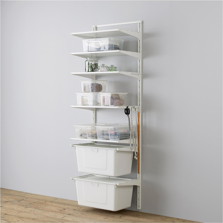 IKEA Algot - Wall / estantes / caja en posición vertical blanca: Amazon.es: Hogar