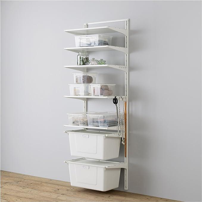 IKEA Algot - Wall / estantes / caja en posición vertical ...