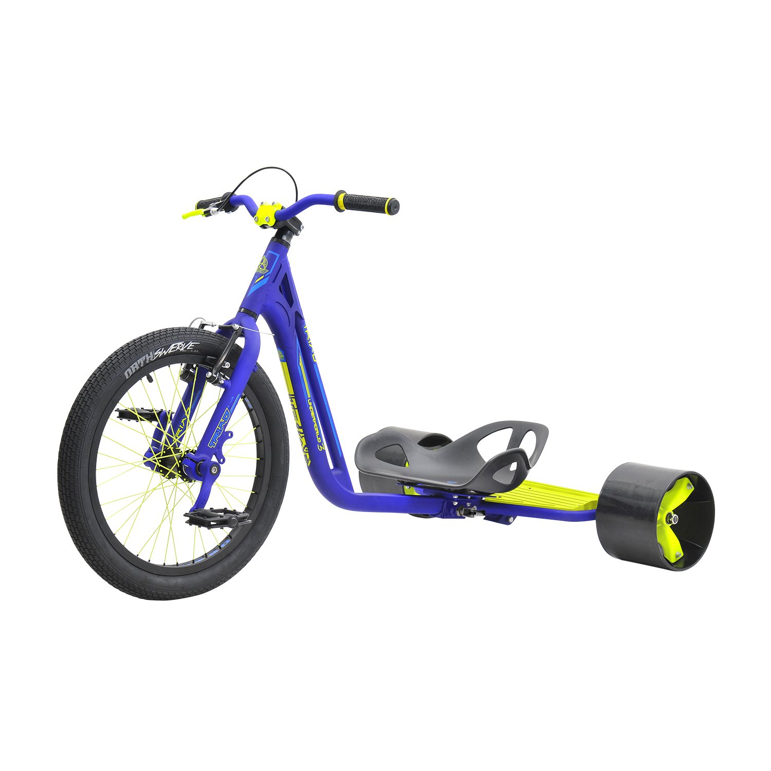 Triad Drift Trikes Underworld 3 Velo Enfant Mixte Adulte, Bleu/Jaune: Amazon.es: Deportes y aire libre