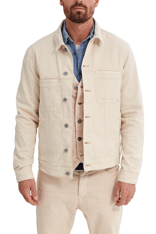Esprit 047ee2g025, Chaqueta para Hombre, Blanco (Off White ...