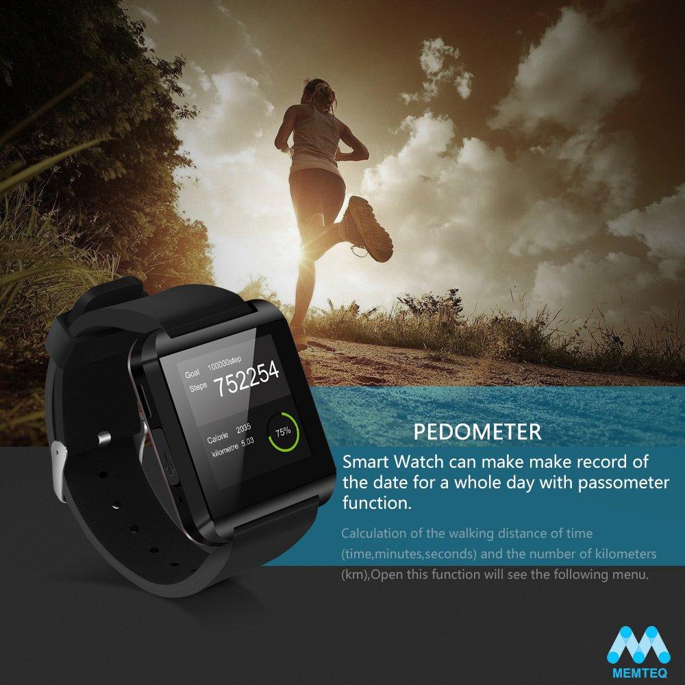 MEMTEQ? U8 reloj inteligente Android Bluetooth pantalla táctil ...