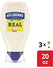 Squeeze Real Mayonnaise 20 oz, 3 count
