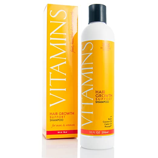 Vitamins Hair Growth Support Shampoo from Nourish Beaute